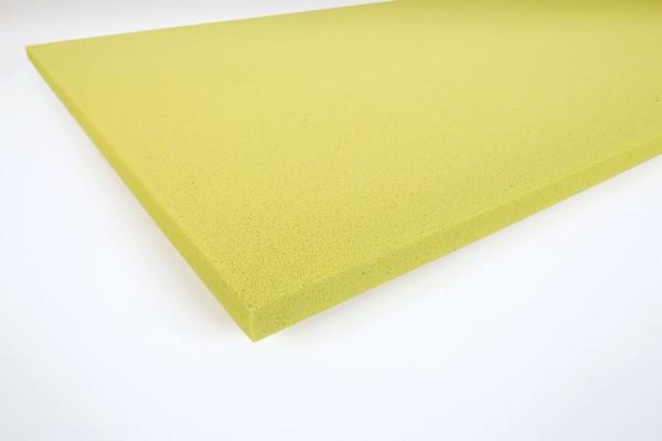 Glatte Paneele Basotect® 3 cm gelb