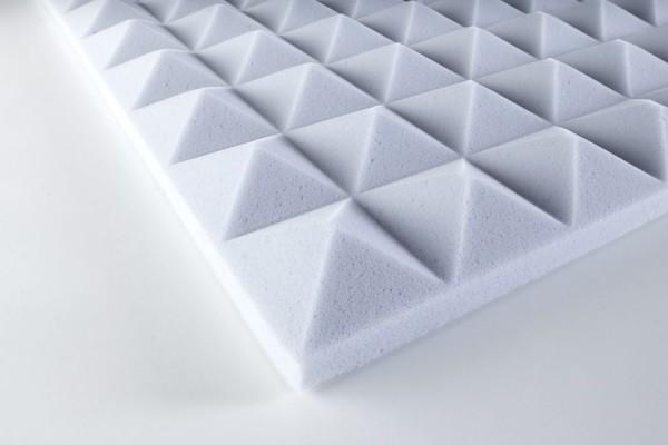 BASOTECT Pyramidanschaumstoff 3 cm nicht selbstklebend